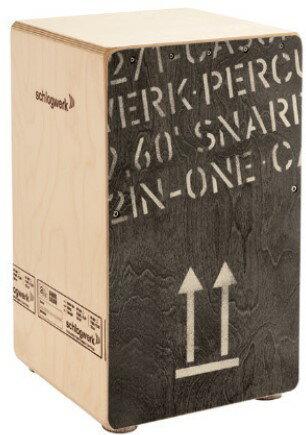 パーカッション・打楽器, カホン Schlagwerk SR-CP404 BLK2 in One Large Cajon Black Edition