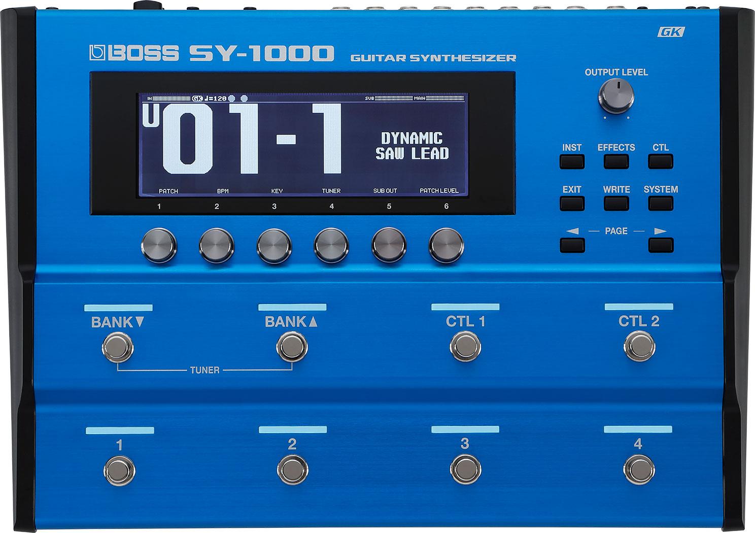 ギター用アクセサリー・パーツ, エフェクター BOSS SY-1000 Guitar Synthesizer