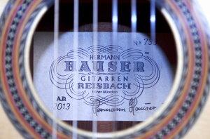 【希少品】HERMANNHAUSERIII(ヘルマン・ハウザー3世)ドイツ【RECOMMEND:APEX弦楽器】