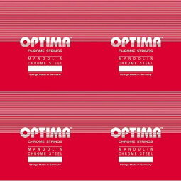 OPTIMA マンドリン弦レッド SETNo.2101~No.2104