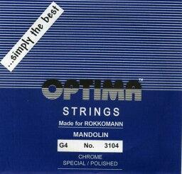 OPTIMA マンドリン弦ブルー G線 (2本入り)No.3104