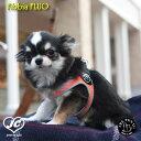 【メール便対応】サイズ:3号 Fibbia FLUO TRE PONTI LTP111 ハーネス (シンプルタイプ) トレポンティ 小型犬 運動 シンプル設計 夜間のウォーキング 軽量 丈夫 ノンアレルギー 耐水性 犬服 ペット...