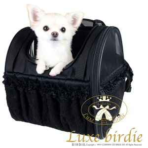 【送料無料】9564【Luxebirdie小型犬キャリーバッグリュック】リュックキャリー(犬服小型犬キャリーバッグリュック軽い収納力レースチュール自立)