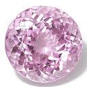 【期間限定】ラウンドの結晶が美しく煌くクンツァイト41.02CT