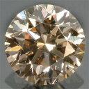ファンシーライトブラウンダイヤモンド 宝石 ルース 0.306CT