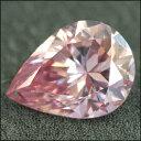 ファンシーインテンスピンクダイヤモンド 宝石 ルース 0.407CT (VS)