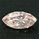 【キャッシュレス5%還元】ファンシーオレンジピンクダイヤモンド 宝石 ルース 0.197CT