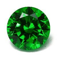 美しい色調が魅力の結晶デマントイドガーネット0.66CT