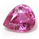 サイズ、カラー共におすすめです!煌く輝きが美しい一石!ピンクサファイア1.37CT