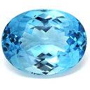 大粒結晶の煌びやかなブルー光彩!スイスブルートパーズ135.36CT