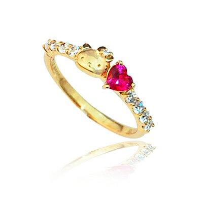 ハローキティ グッズ 指輪 リング ZIRCONIA with Hello Kitty cocktail ring カクテルリング2 The ...