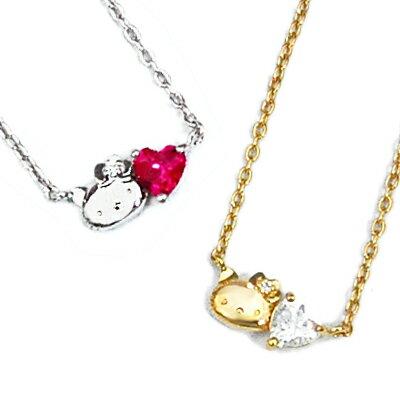 ハローキティ グッズ ペンダント ネックレス ZIRCONIA with Hello Kitty The HEART Necklace penda...
