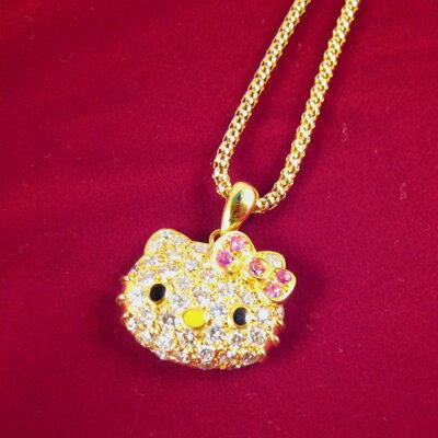 ☆限定1pc!☆ダイヤモンドとピンクサファイアがとってもゴージャスなクィーンオブキティフェイ...