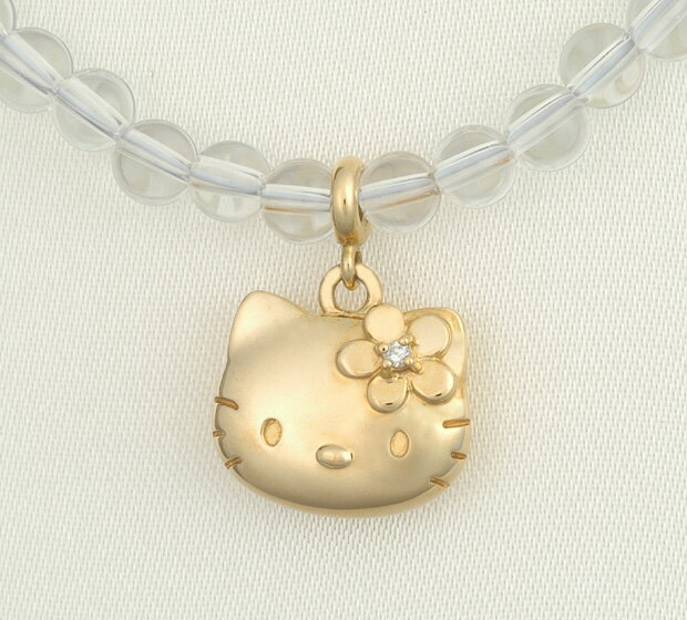 Hello kitty HELLO KITTY18 gold diamond quartz necklace Kitty accessories present gift Christmas lapping fs3gm