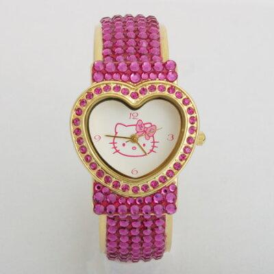 ハローキティのキラキラ腕時計!Hello Kitty/キティちゃん/ウォッチ/アクセサリーハローキティ ...