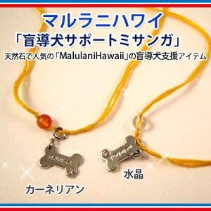 ※天然石で人気の「Malulani Hawaii」から盲導犬サポートミサンガ登場!マルラニハワイ「盲導犬...