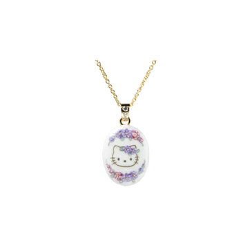 ハローキティ 大人 HELLO KITTY・オーバル(ミニ) ラヴェンダー※発送までに1〜2週間ほどお時間を頂いております。 誕生日プレゼント キティ プレゼント ギフト ラッピング キティちゃん 女性 レディースジュエリー クリスマス クリスマスプレゼント