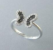 ダイヤモンド・ブラックダイヤモンドリング