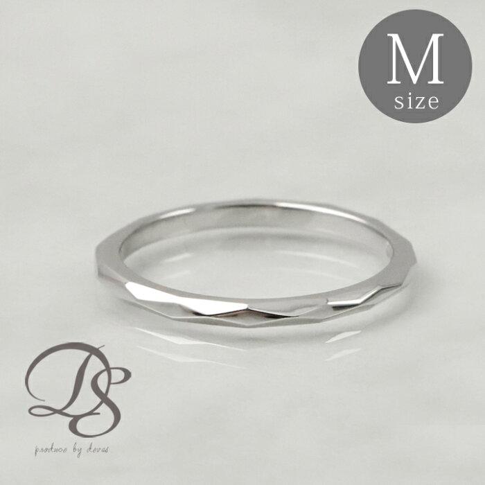 プラチナ リング レディース ピンキーリング Pt950 platinum 指輪 レディース ゴールド リング誕生日 ギフト プレゼント 贈り物 妻 彼女 ペアリング 結婚指輪0号 1号 2号 3号 4号 5号 カットデザイン(M)送料無料 DEVAS ディーヴァス