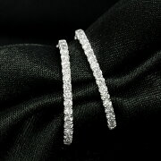 K18ホワイトゴールドダイヤモンドピアス