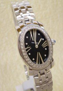 ◆送料無料◆正規代理店WALTHAM ウォルサム腕時計 女性用K18ホワイトゴールドトノーフェイス ...