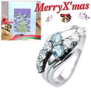911253クリスマスカード付ジュエリー3月誕生石