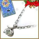クリスマス限定Xmasカード付K18ホワイトゴールドダイヤモンドペンダ...