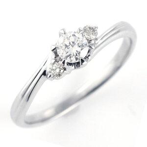 レビュー カラット エンゲージリング ダイヤモンド プラチナ ソリティア