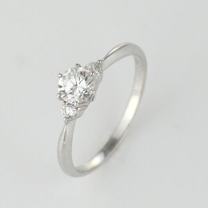 【刻印無料】婚約指輪エンゲージリングダイヤモンドプラチナリング【_包装】