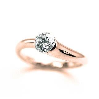 ブライダルジュエリー・アクセサリー, 婚約指輪・エンゲージリング  K18PG