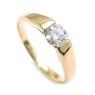 婚約指輪 エンゲージリング ダイヤモンド ダイヤ リング 指輪 人気 ダイヤ ゴールド リング 18金 K18 18k 0.33ct【楽ギフ_包装】