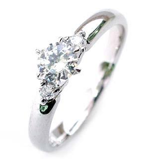 エンゲージリング ダイヤモンド ダイヤ プラチナ リング 婚約指輪 0.35ct【楽ギフ_包装】