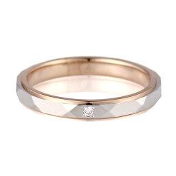 結婚指輪 マリッジリング ペアリング ダイヤモンド プラチナ K18ピンクゴールド Lavender 人気【楽ギフ_包装】 末広 【今だけ代引手数料無料】