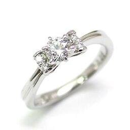 AneCan掲載 (Brand アニーベル) Pt ダイヤモンドデザインリング(婚約指輪・エンゲージリング) メレ 【楽ギフ_包装】【DEAL】 末広 【今だけ代引手数料無料】