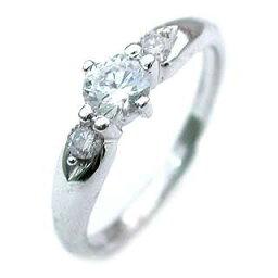 ( 4月誕生石 ) Pt ダイヤモンドリング(婚約指輪・エンゲージリング)【楽ギフ_包装】 末広 【今だけ代引手数料無料】