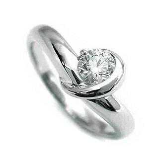 婚約指輪 ダイヤモンド リング ダイヤ エンゲージリング ダイヤモンド ダイヤリング プラチナ900 VSクラス0.30ct 鑑定書付き 【DEAL】