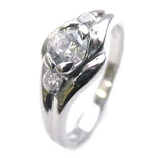 婚約指輪 エンゲージリング ダイヤモンド ダイヤ リング 指輪 人気 ダイヤ プラチナ リング 0.35ct【楽ギフ_包装】