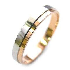 結婚指輪(マリッジリング)結婚指輪 マリッジリング プラチナ ピンクゴールド ペアリング ♪【...