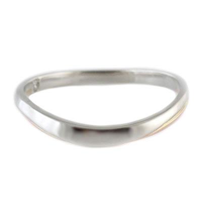 プラチナ Pt ( Brand Jewelry TwinsCupid ) プラチナ900 K14ピンクゴールドダイヤモンドメンズリング(パールシャワー)【楽ギフ_包装】
