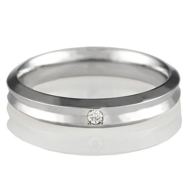 ( Italian Brand Jewelry ウノアエレ ) K18ホワイトゴールド ダイヤモンドペアリング【楽ギフ_包装】