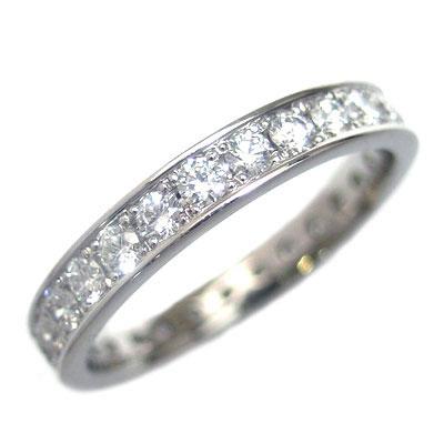 プラチナ ダイヤモンドフルエタニティリング(Brand Jewelry L'or)【楽ギフ_包装】【DEAL】