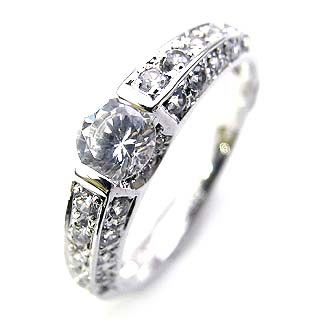 ( Brand Jewelry Angerosa ) Pt ダイヤモンドリング(婚約指輪・エンゲージリング)【楽ギフ_包装】 末広 楽天スーパーSALE【今だけ代引手数料無料】