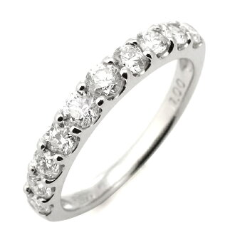 Pairing marriage rings wedding rings diamond eternity rings 1 Carat half eternity