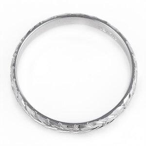 ハワイアンジュエリーメンズリング人気シルバー幅約3mm指輪ファッションデザインマイレ