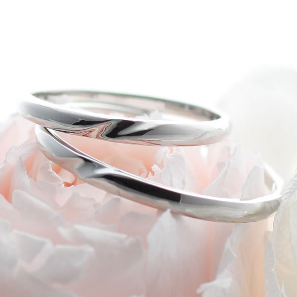ペアリング プラチナ リング【楽ギフ_包装】:Jewelry SUEHIRO