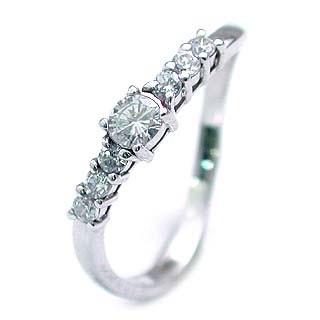 プラチナ リング ダイヤモンド リング プラチナリング 【楽ギフ_包装】【DEAL】