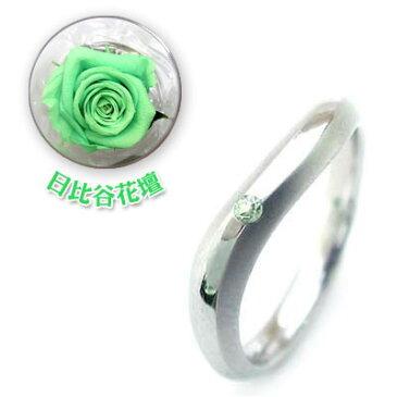 結婚指輪・マリッジリング・ペアリング( 8月誕生石 )ペリドット(母の日 限定 日比谷花壇誕生色バラ付)【楽ギフ_包装】