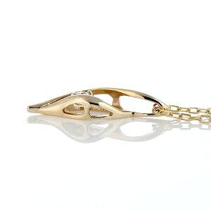 ネックレスダイヤモンドダイヤ一粒イエローゴールドゴールド金ダイヤモンドネックレスレディース人気