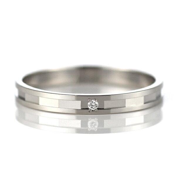 ラッピング無料 結婚指輪 マリッジリング ペアリング プラチナ ダイヤモンド【楽ギフ_包装】:Jewelry SUEHIRO