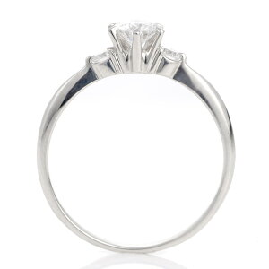 婚約指輪エンゲージリングダイヤモンドプラチナリング★今ならバラケースプレゼント★【楽ギフ_包装】